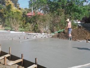 131123-2 Finishing house slab