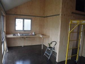Mar 5, 2014: starting the kitchen installation.