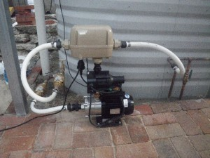 Mar 11, 2014: new pump and automatic switching device installed