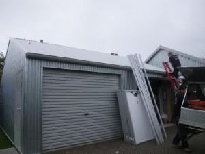 Apr 4, 2014: beginning installation of the solar PV system
