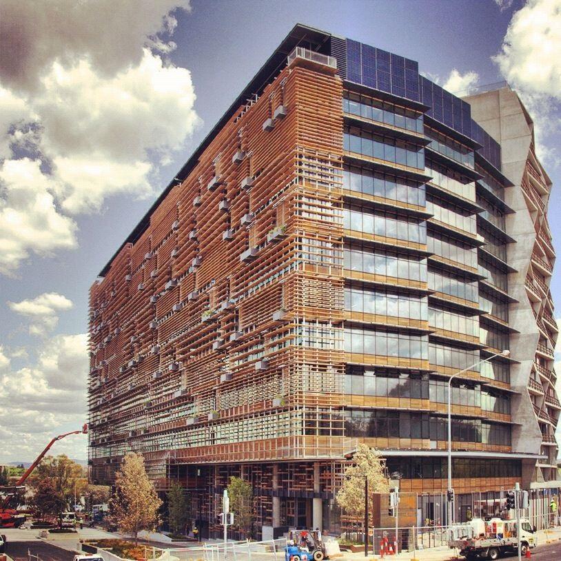 The Nishi Building, Canberra, by Fender Katsilidis Architects.
