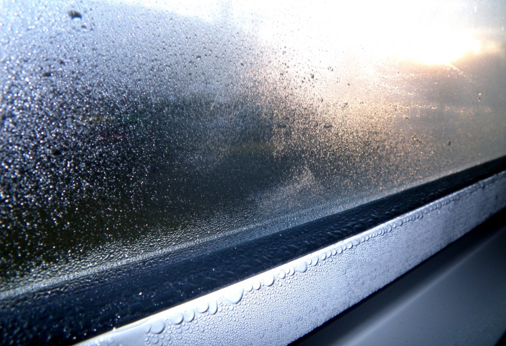 Inadequate ventilation can lead to condensation on windows and other places.