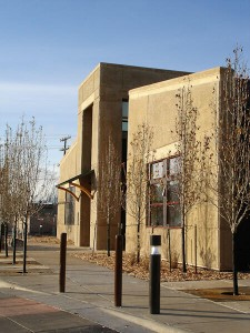 The LEED Platinum Missoula Federal Credit Union, Russell St Branch in MIssoula, MT.