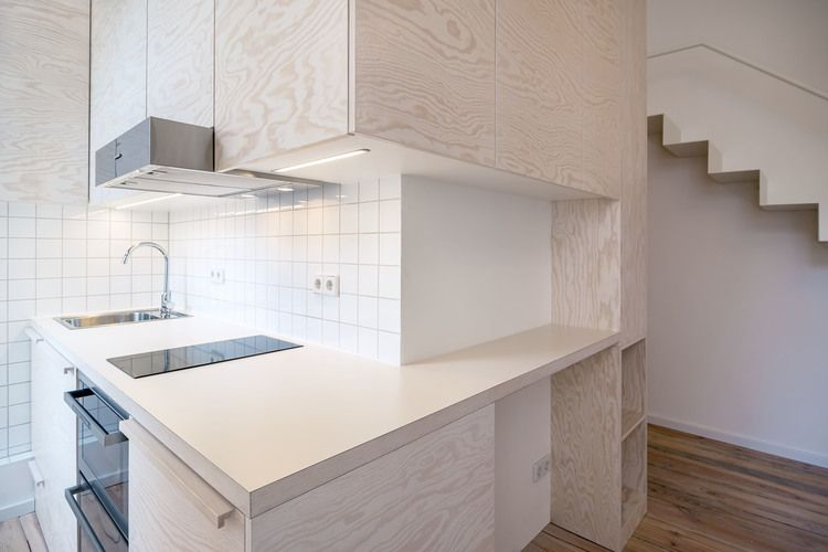 This 21 sq m Micro Apartment makes very clever use of limited space