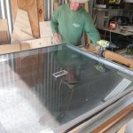 Reinstalling the glass