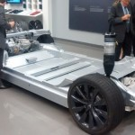 Chassis of the dual engine Model S