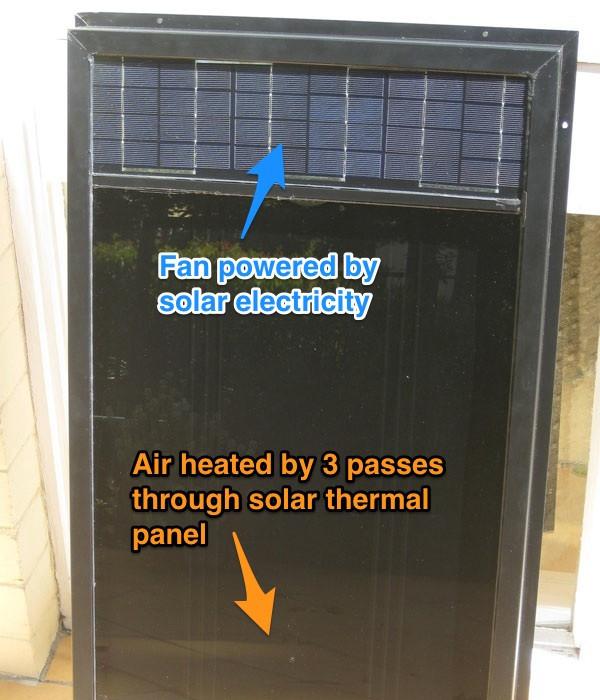 May 17 2015 Diy Solar Air Heater Prototype The Greeny Flat