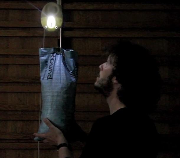 The elegantly simple 'Gravity Light'