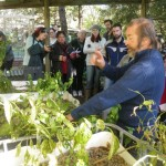 Paul describing the workings of the Aquaponics system