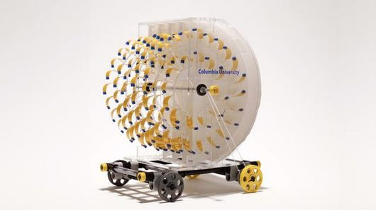 This little vehicle is powered by evaporation