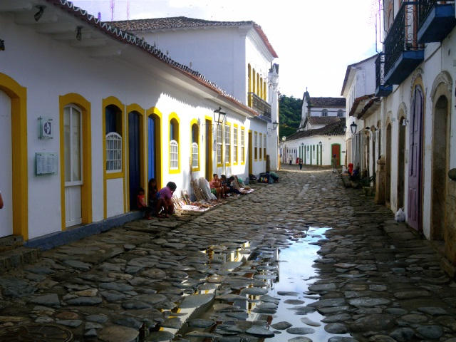 The gorgeous, 500-year-old village of Paraty.