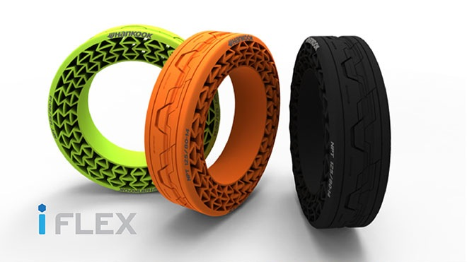 Hankook 'iFlex' airless tyres