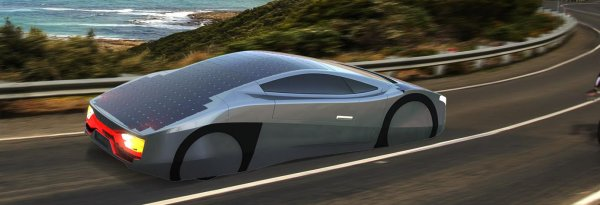 The Immortus solar sports car