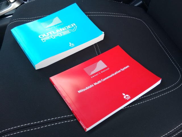The TWO manuals that came with the PHEV