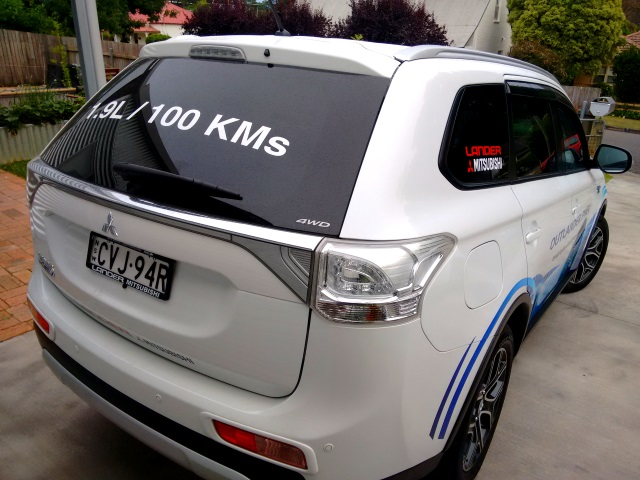 1.9L/100km... an eye-catching but extravagant claim!