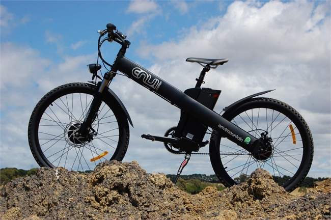 The EnviMotion electric assisted mountain bike.