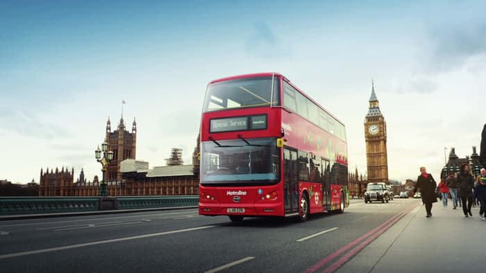 Chinese Buses Invade London
