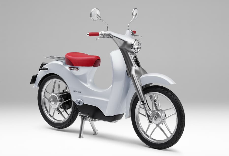 The beautiful Honda 'EV-Cub'