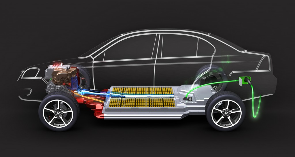 Electric Vehicles have large storage batteries