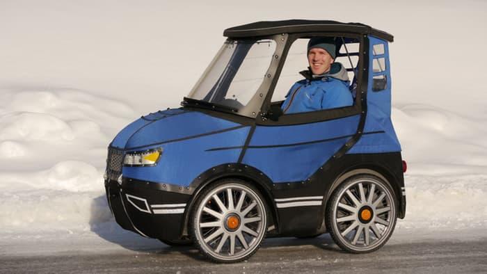 The 'Podride' velomobile