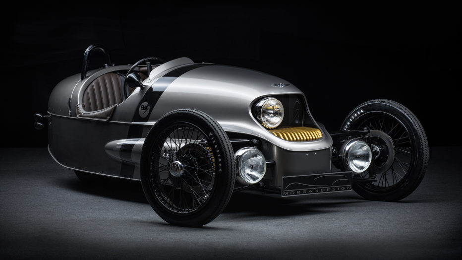 The new EV3, three wheeled electric vehicle from Morgan (Source: wired.com)