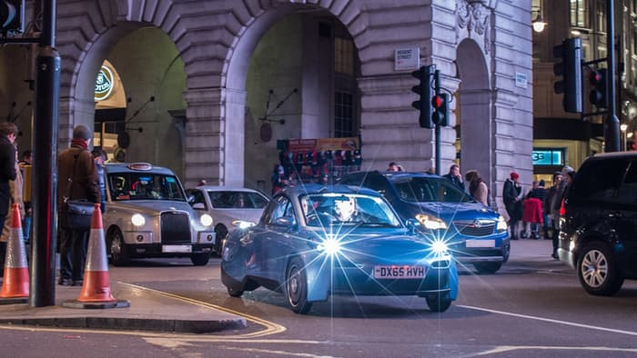 The Riversimple-Rasa starts on road testing in the UK. (Source: Gizmag)