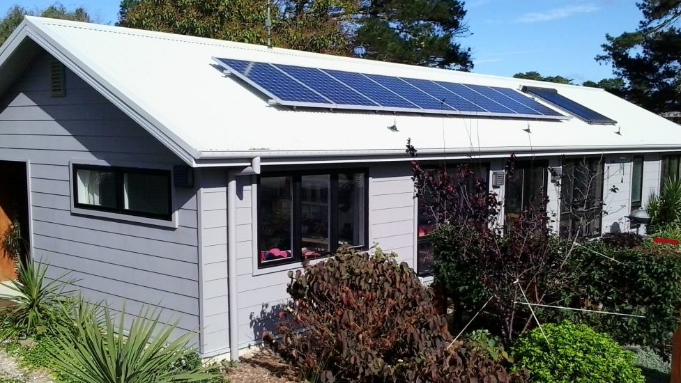 The Robinson's wonderful Net Zero Cottage in Bundanoon will be open for Sustainable House Day too.