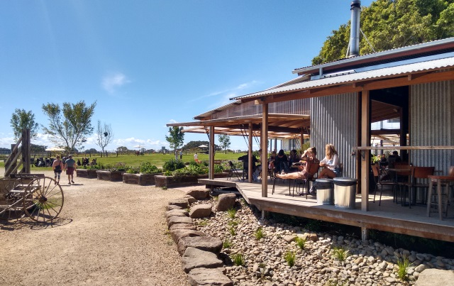 I was singularly unimpressed by 'The Farm' at Byron Bay. After hearing all the hype about the 500,000 visitors it had in its first year I was keen to see what the fuss was all about. What I saw was an overpriced hangout for the rich and gullible.