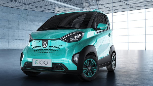 General Motors' new $5000 electric vehicle