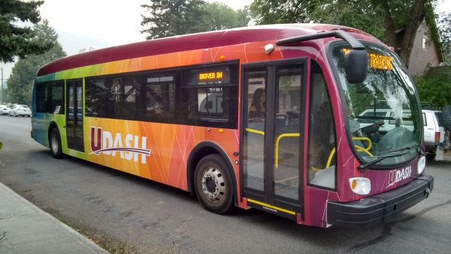 The University of Montana's new Electric Bus