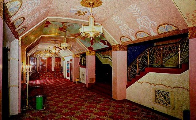 Washoe Theater foyer