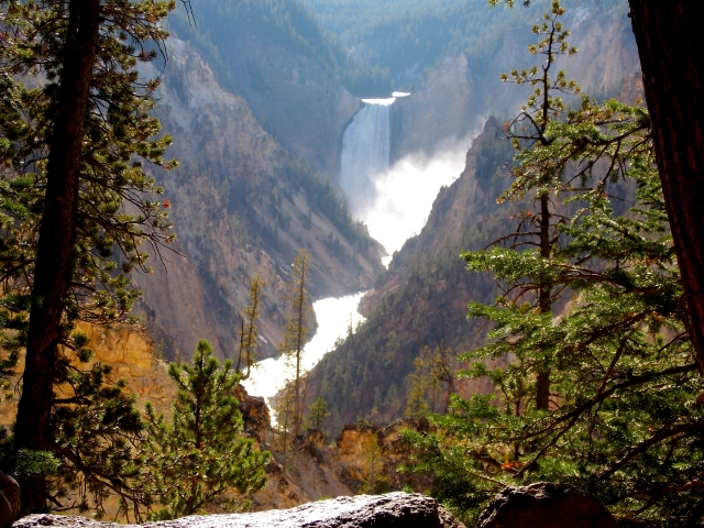The 'Grand Canyon of Yellowstone Park'
