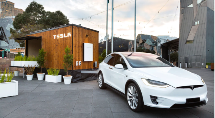 The Tesla Tiny House is touring Australia towed by a Tesla Model-X