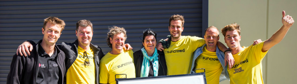 The Suncrowd crew might look happy but many of their customers are not... THUMBS DOWN FOLKS.