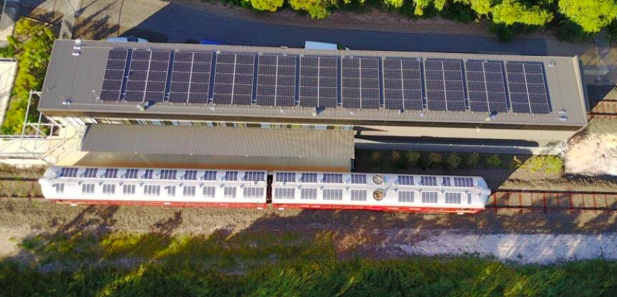 The Byron Bay Railroad Company's new Solar Train (Source: New Atlas)
