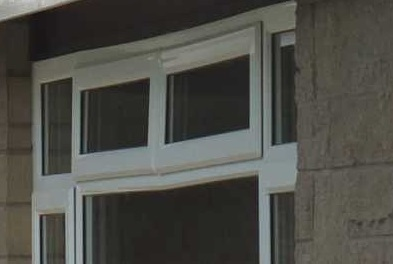 This is clearly an extreme case of uPVC window sagging but it shows what can happen.