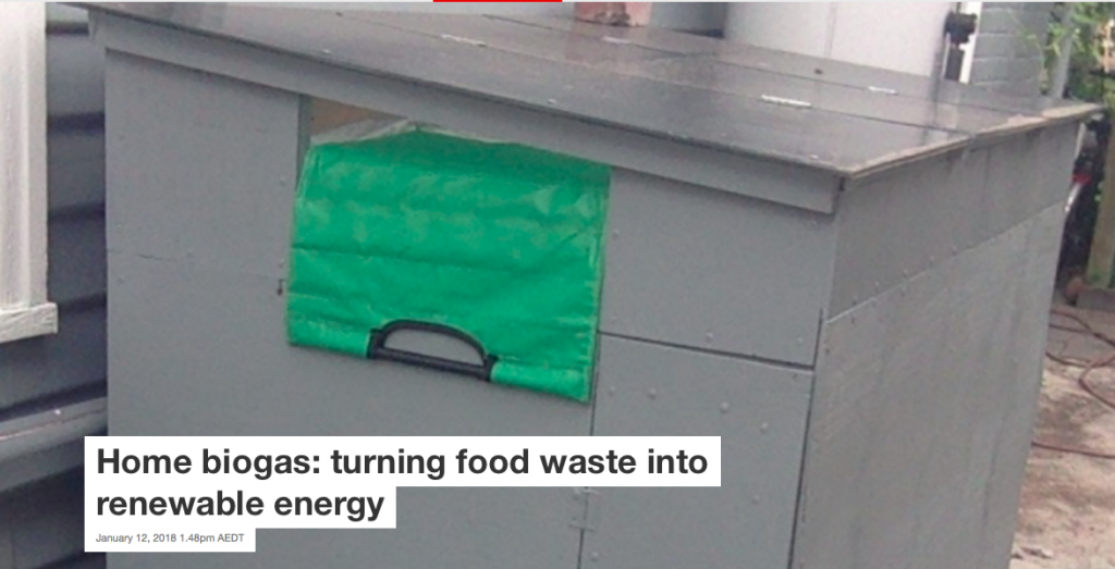 Is this an insulated solar box built around Samuel's Home Biogas system?