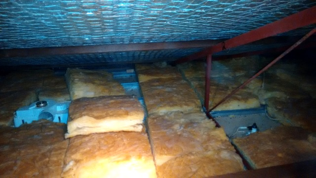 Can you spot the tell-tale signs that there's been a tradie in this attic?