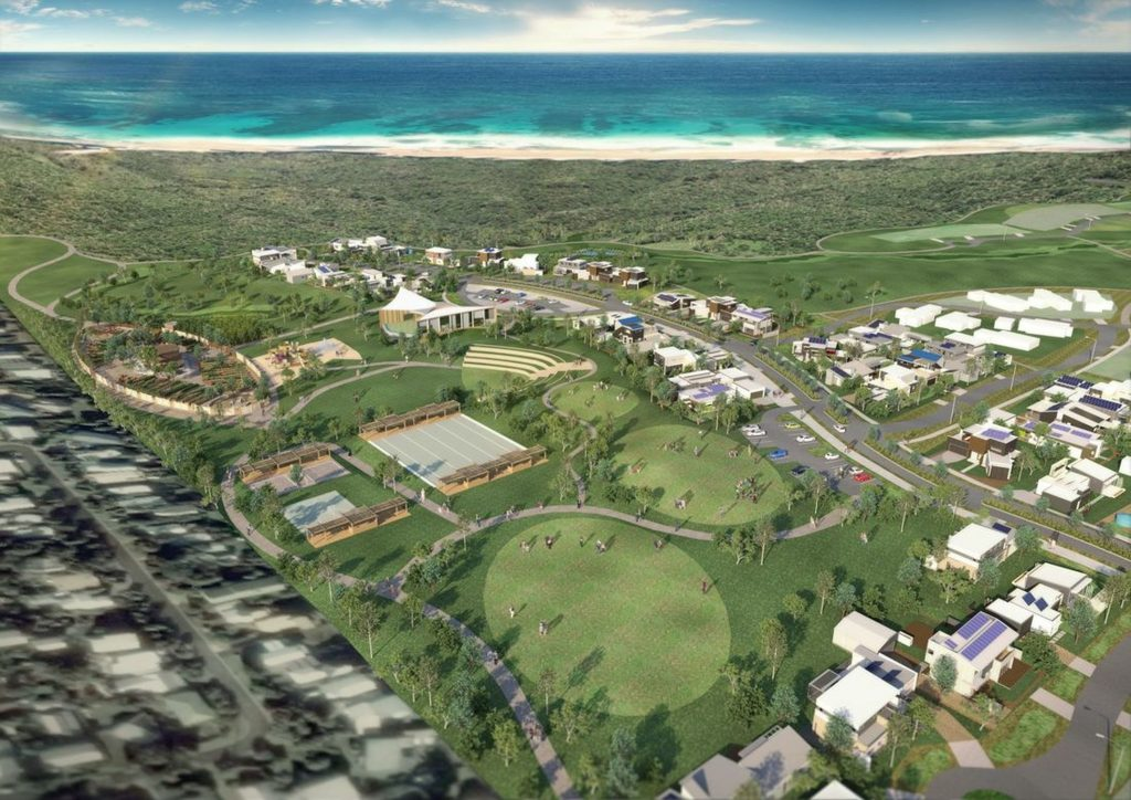 Artist's Impression of The Cape development.