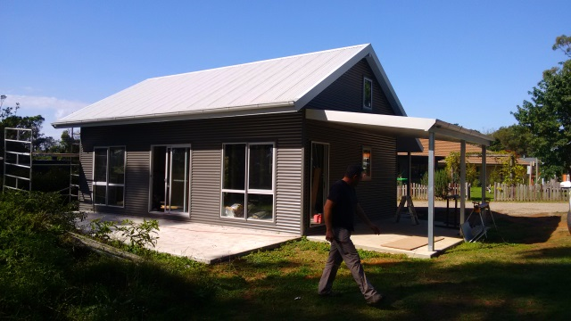 A new granny flat that I designed for a friend in the Southern Highlands currently under construction.