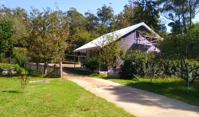 A new granny flat under construction in the Southern Highlands.