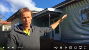 Link to video tour of the Fibro Cottage Deep Energy Retrofit for Sustainable House Day 2021